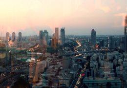 Рассвет в мегаполисе