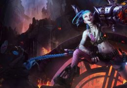 League of Legends персонаж Jinx