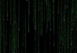 Анимированный код матрицы