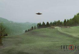 X Files туман и старая школа - живые обои