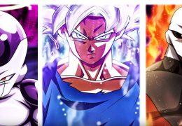 Dragon Ball Super - Goku & Jiren & Frieza 4K живые обои