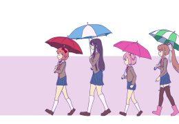 Doki Doki Literature Club - живые обои