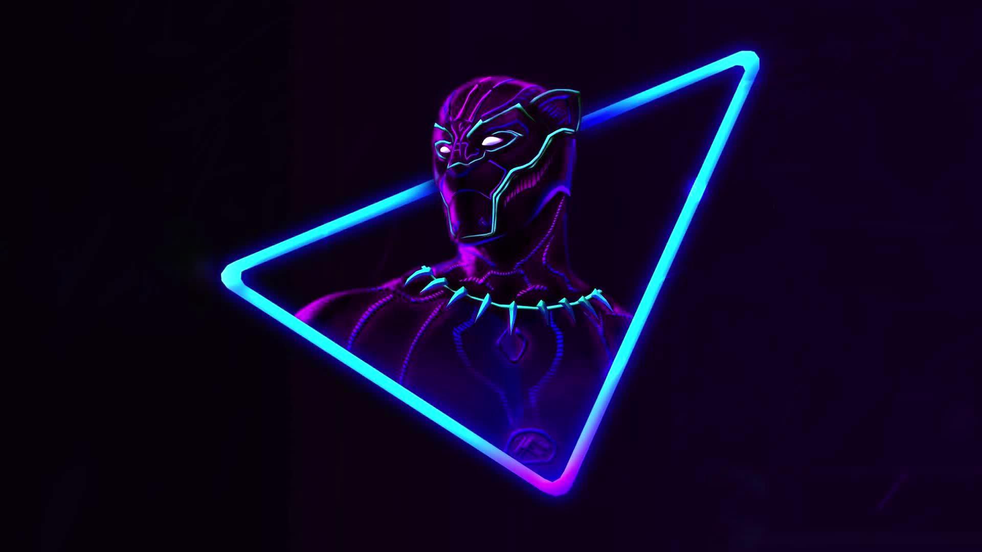 Чёрная пантера от Marvel - живые обои