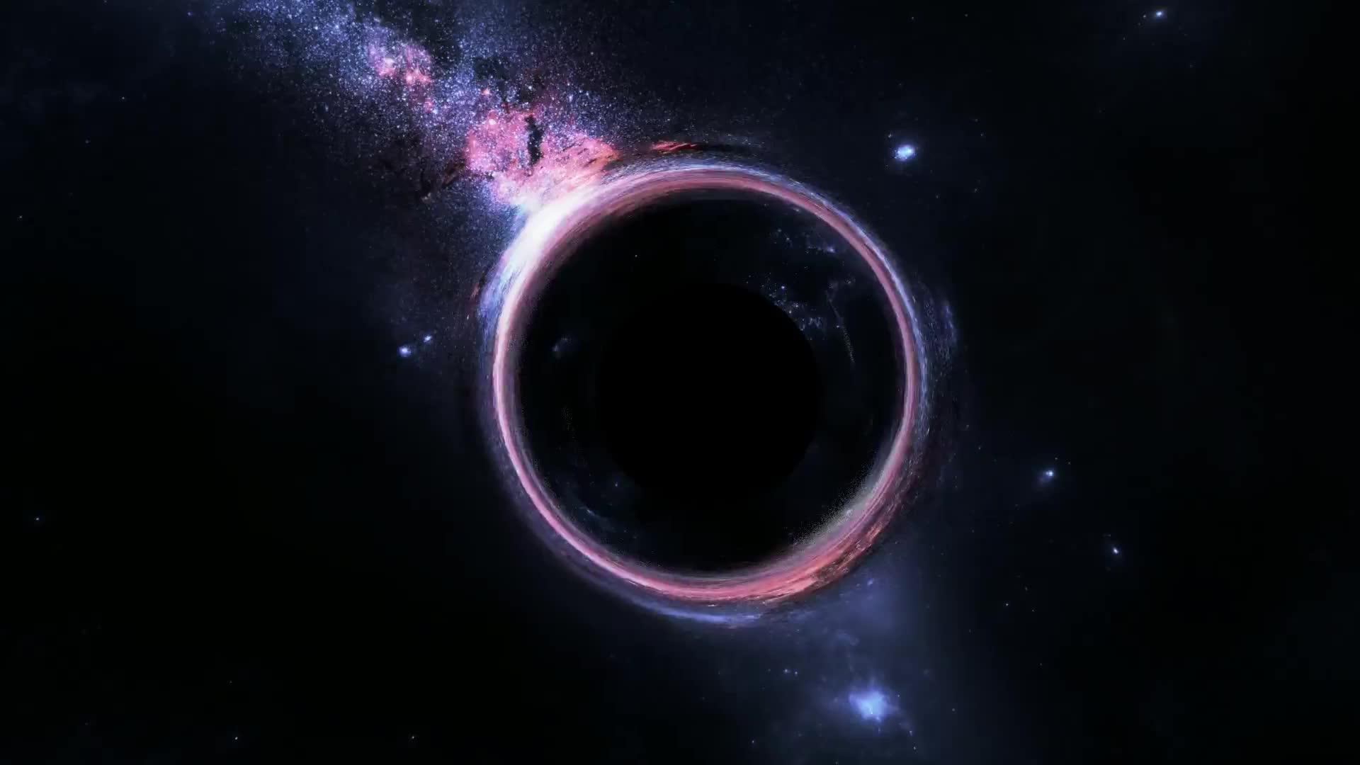 Черная Дыра - живые обои