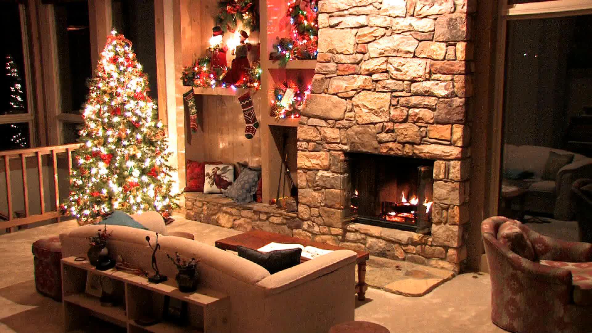 Рождественское настроение - живые обои