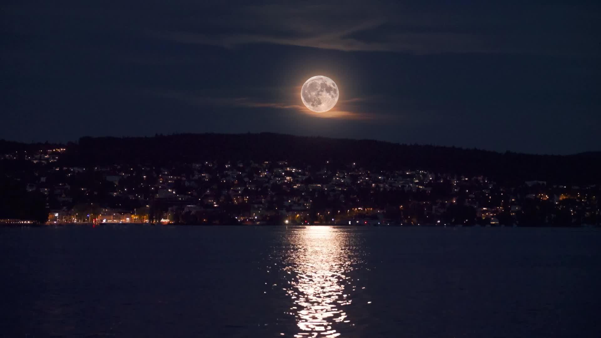 Цюрихское озеро - Lake Zurich - живые обои