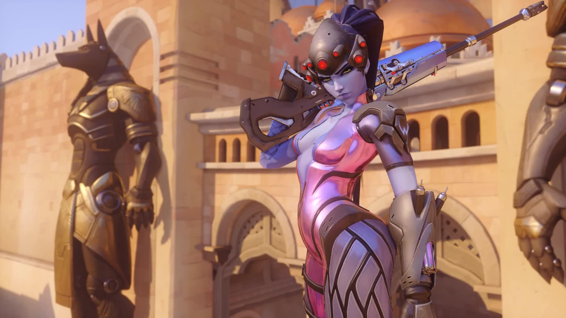 Overwatch Роковая вдова - Widowmaker - живые обои