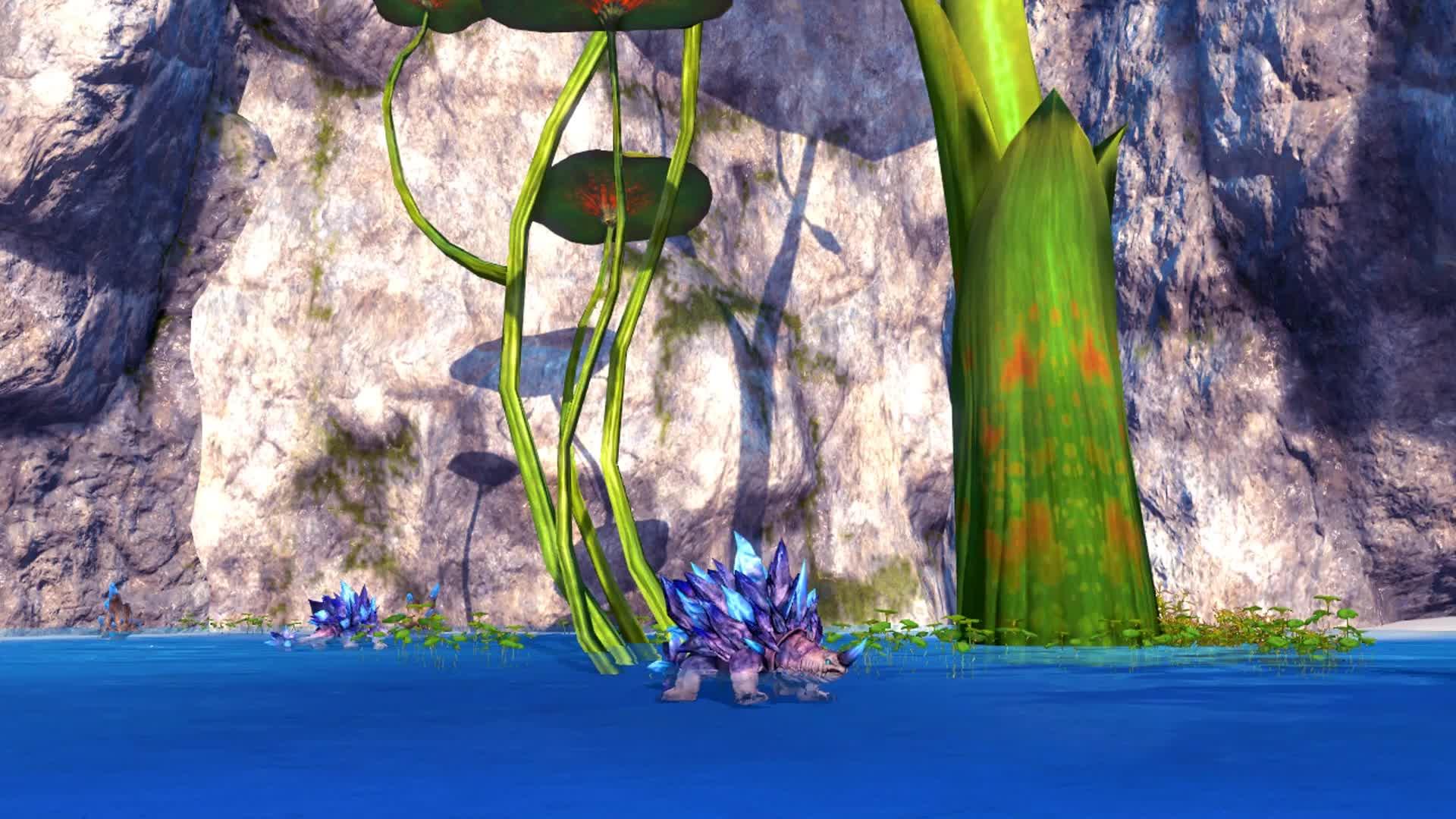 Blade And Soul Sapphire Basin Черепашки - живые обои
