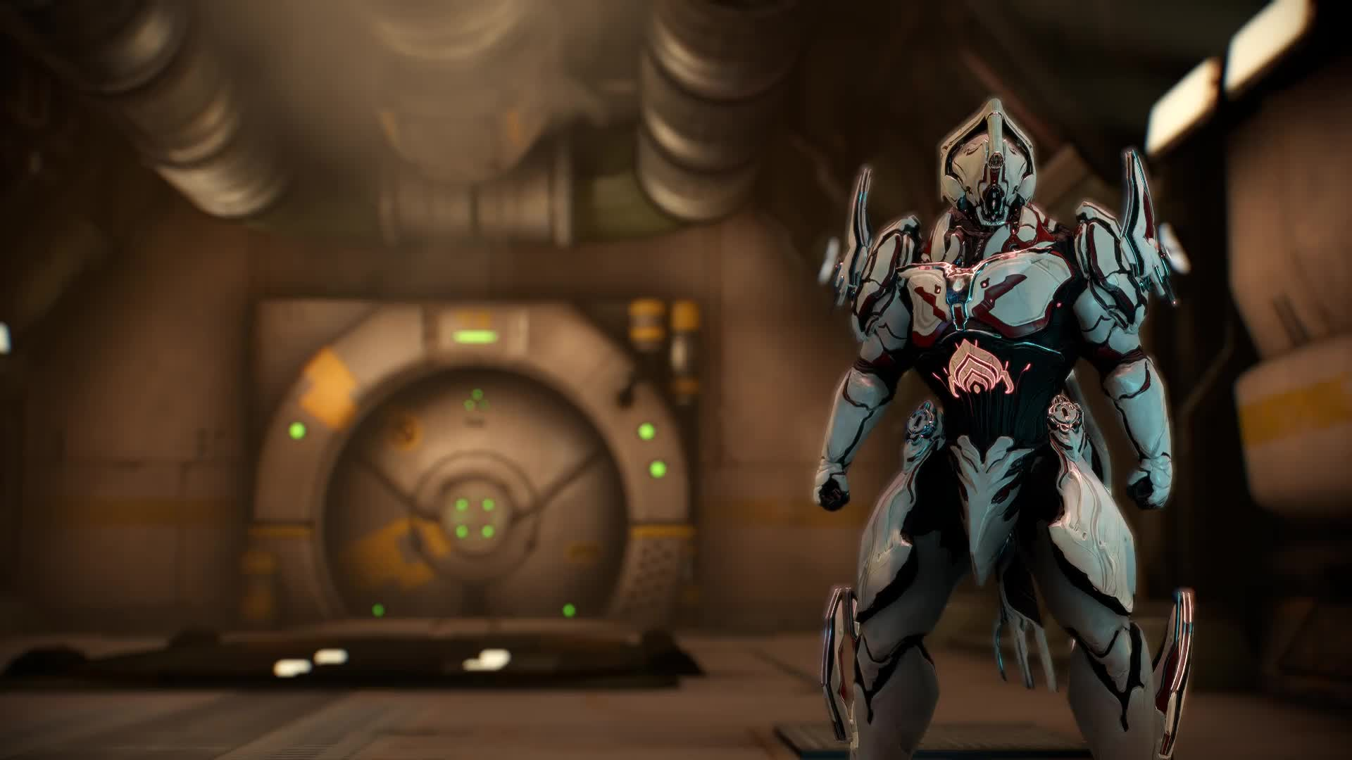 Warframe Rhino Idle - живые обои