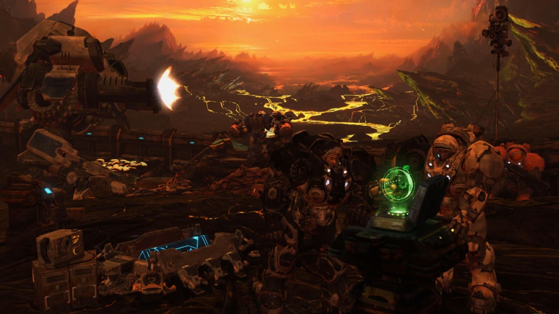 Жестокая Бойня Warhammer 40,000 - живые обои