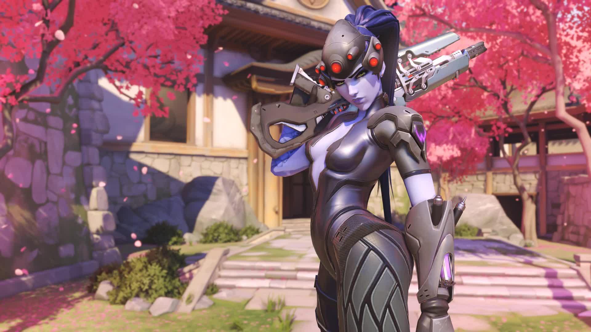 Overwatch Роковая вдова - живые обои