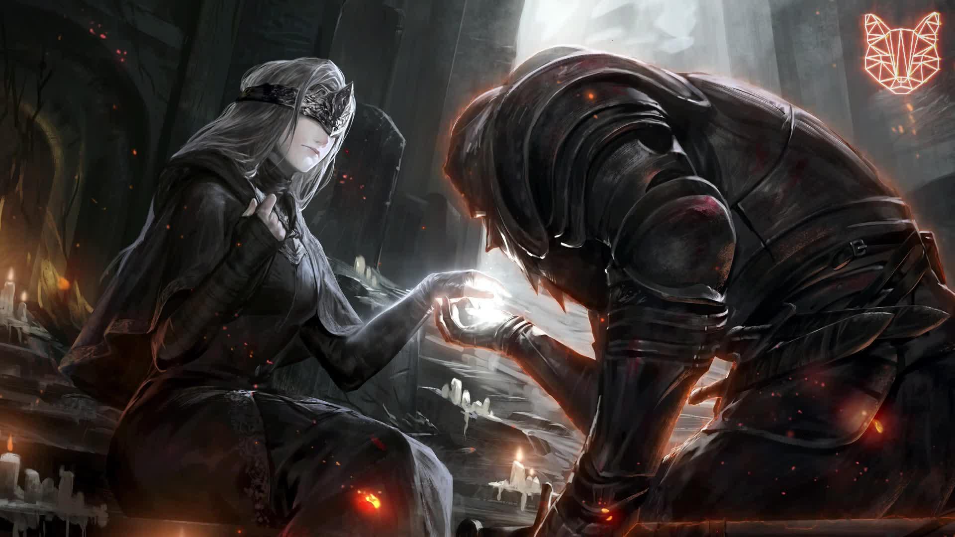 Непрощенный Dark Souls - живые обои