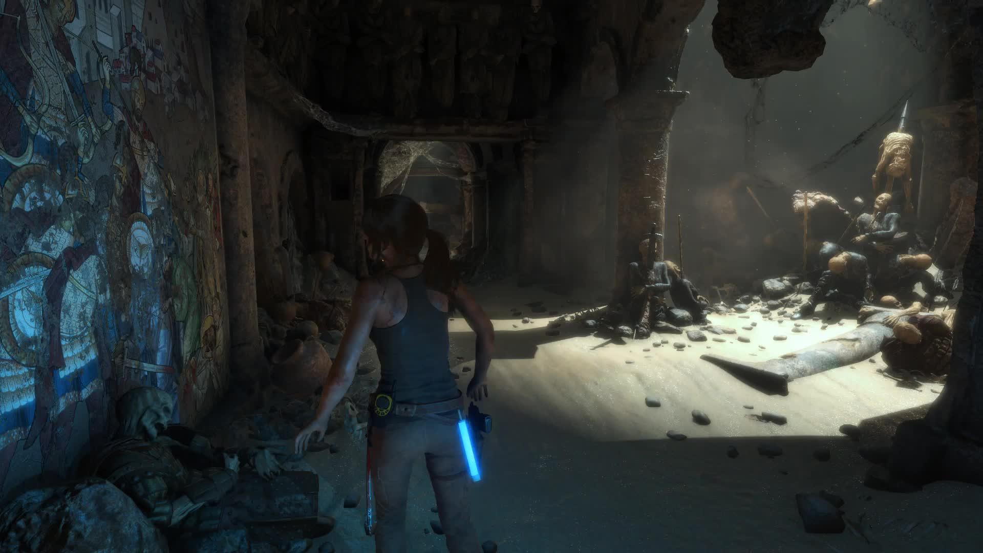 Rise of the Tomb Raider The Prophet's Tomb - живые обои