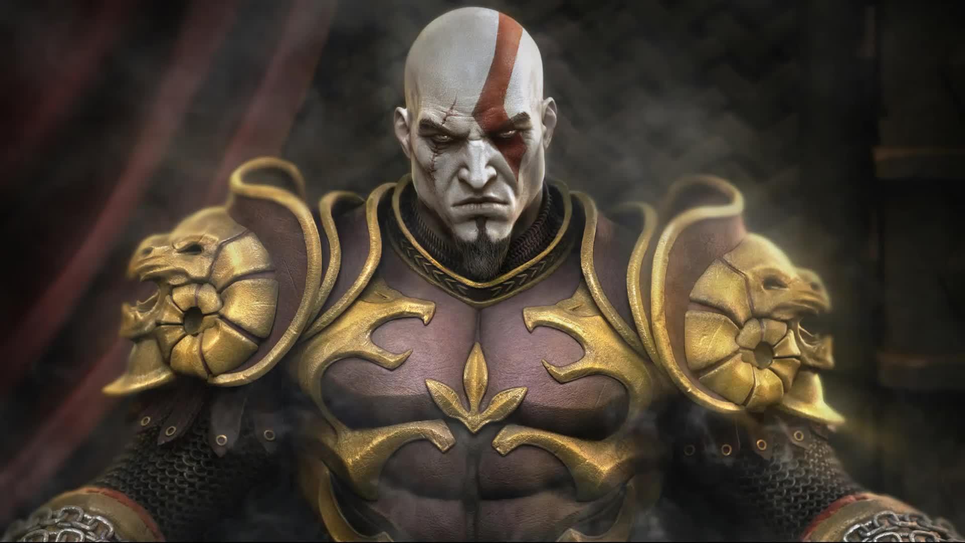 God of War Кратос – Живые Обои