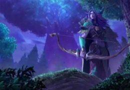 Ночной Ельф Warcraft III Reign Of Chaos - Живые Обои