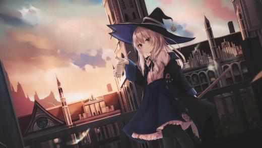 Ведьма-путешественница - Элайна - Живые Обои